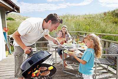 Image result for family at summer home